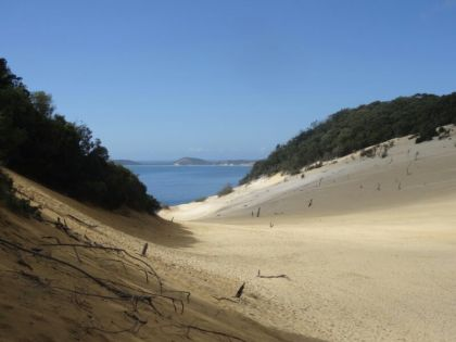 "Dune ""Carlo"" à Rainbow Beach"
